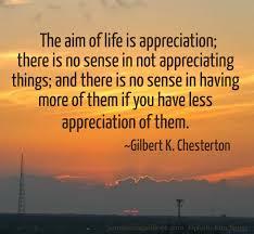 Appreciating Life1